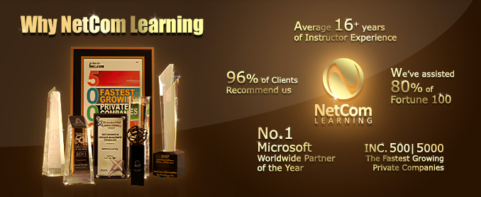 Why NetCom Learning?