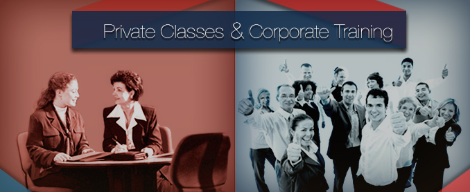 Private Classes & Corporate Training