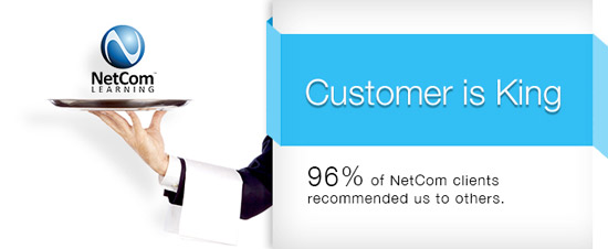 NetCom Learning Customer Experience