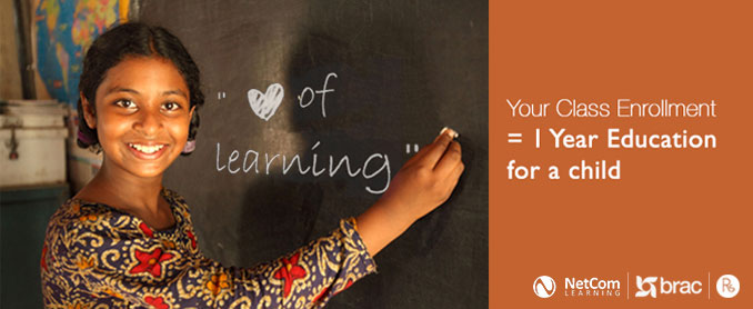 Love of Learning - Educate a Child Campaign